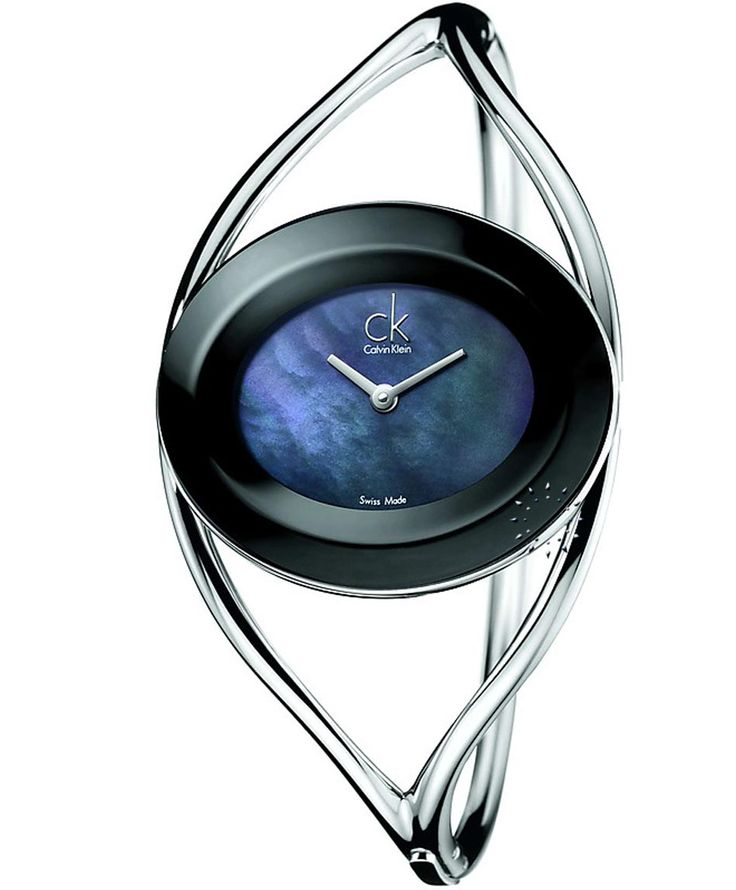 CALVIN KLEIN Delight Stainless Steel Bangle Τιμή: 198€ http://www.oroloi.gr/product_info.php?products_id=34178