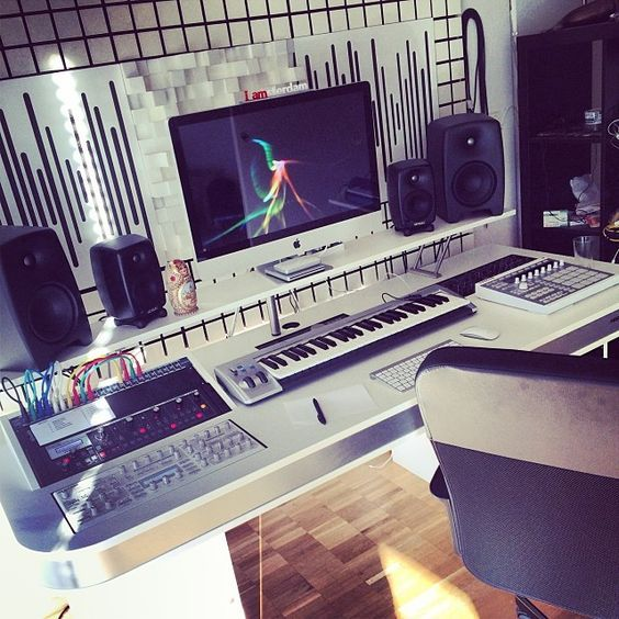 Your recording studio is the home to which you develop your new creations and…