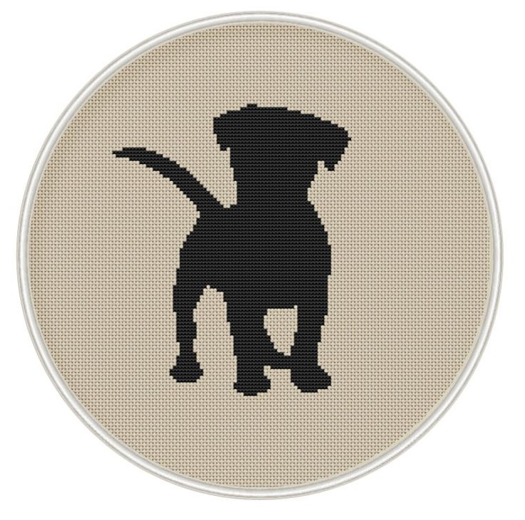 Puppy cross stitch pattern, Dog counted cross stitch, Instant Download, Free shipping, silhouette cross stitch, Cross Stitch PDF, MCS072 by MagicCrossStitch on Etsy https://www.etsy.com/listing/227276229/puppy-cross-stitch-pattern-dog-counted