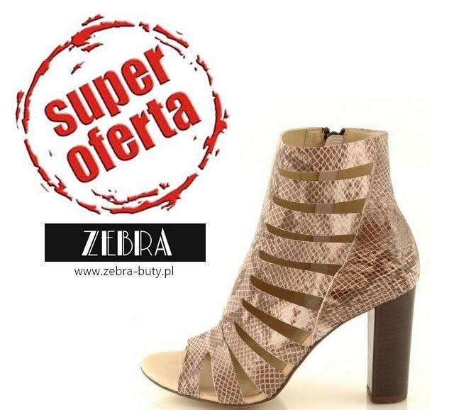 Aż 60% taniej ! http://zebra-buty.pl/model/5521-botki-gremax-2595-czarny-lico-2051-024