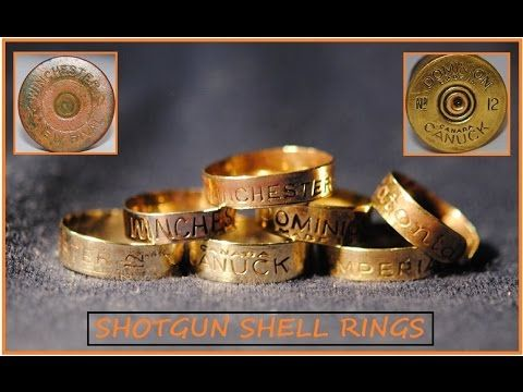 BEAUTIFUL SHOTGUN SHELL RINGS - YouTube