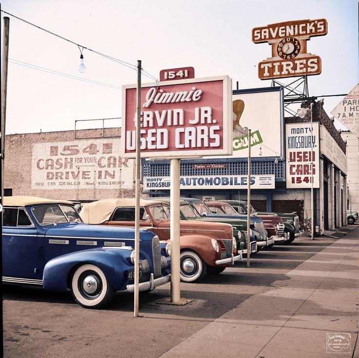 53 best Vintage Dealers images on Pinterest | Vintage cars, Old ...