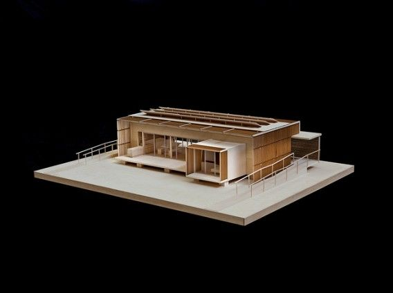 Model from 2011 Solar Decathlon