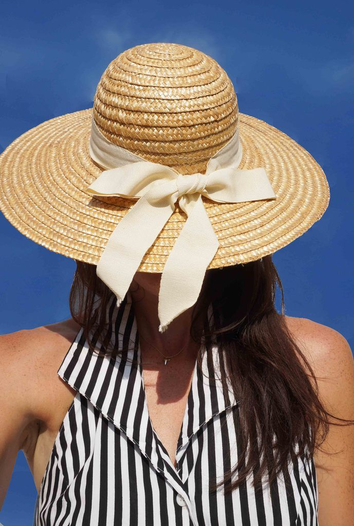 Vintage Wide Brim Straw Hat. With summer more than in firm swing and with  excitement of summer holidays just around the corner everyone needs a  stylish ... 813f3baac5b