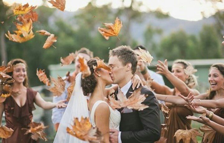 I'm pretty sure this is happening if we have a fall wedding!