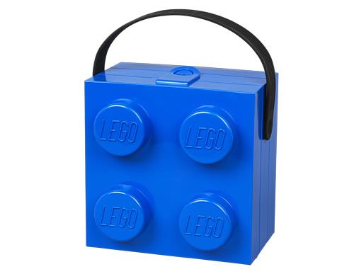 LEGO lunch box with carry handle / LEGO Handbag