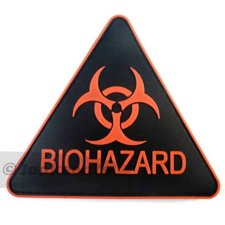 PVC-Gummi-3D-Klett-Patch Biohazard Resident Evil Umbrella Corporation it.picclick.com