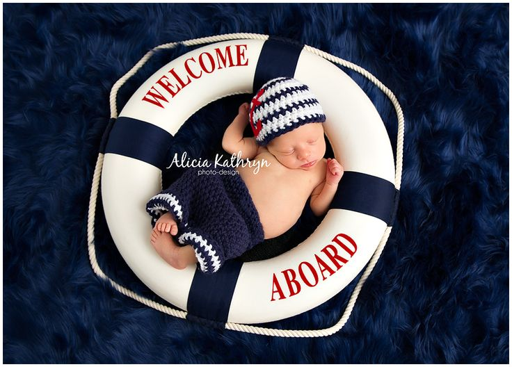 Alicia Kathryn Photo-Design: NH Newborn Photographer www.AliciaKathrynPhoto-Design.com Nautical Newborn Photography Theme