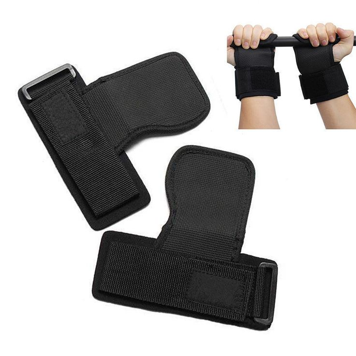 New Design High Quality Skid Gym Training Weight Lifting Straps Wraps Hand Bar Wrist Support Protection