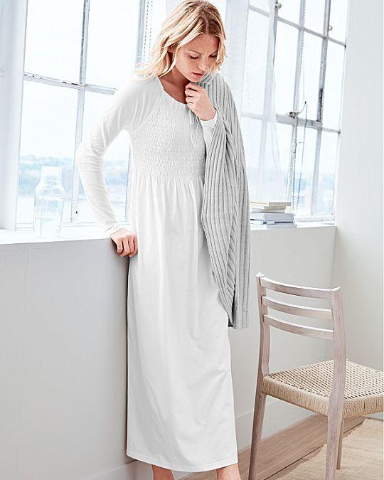Smocked Nightgown - Garnet Hill