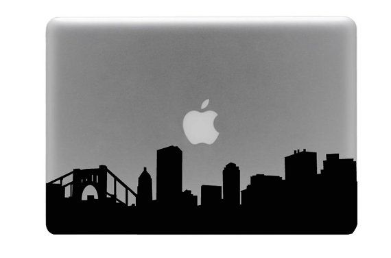 Pittsburgh skyline for your MacBook!
