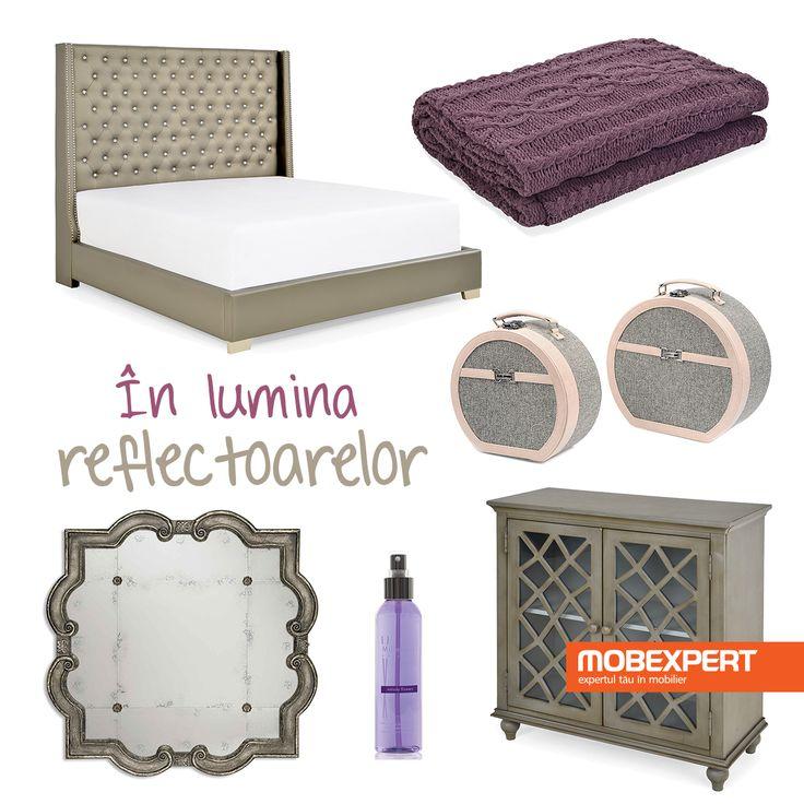 Design unic, finisaje deosebite și un strop de culoare. #decoideea #dormitor #moodboard