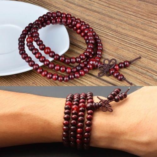 Sandalwood-Buddhist-Buddha-Meditation-108-Prayer-Bead-Mala-Bracelet-Necklace