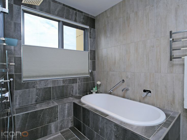 Grey Bathroom #bathroomidea #greys #bath
