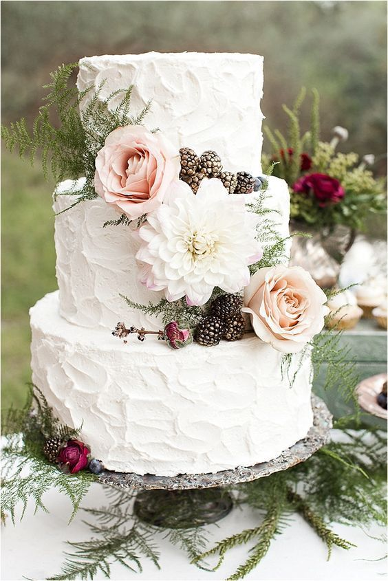 Cakes for Rustic Wedding-1