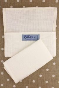 Buy together: off-white Aïda napkin and napkin holder