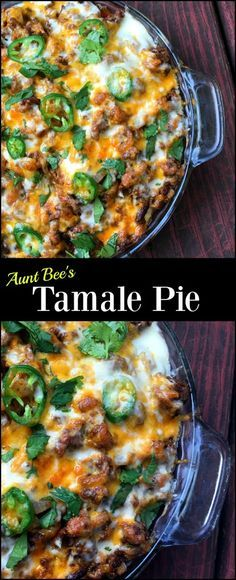 This Tamale Pie is our favorite Mexican casserole ever!