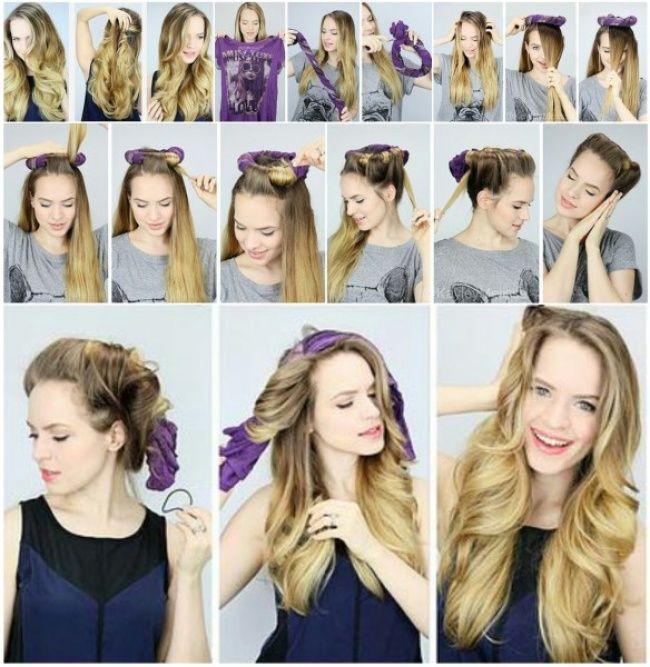 8способов завить волосы без бигуди иплоек