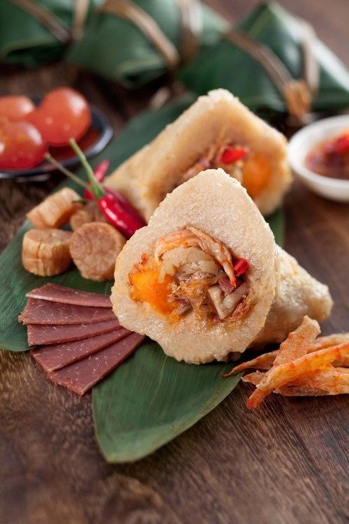 香港九龍東皇冠假日酒店 粽香四溢賀端陽 紫粵軒推出自家製鹹甜雙粽