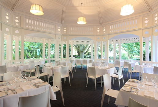 Beautiful Adelaide Botanic Gardens Restaurant. Adelaide, South Australia.