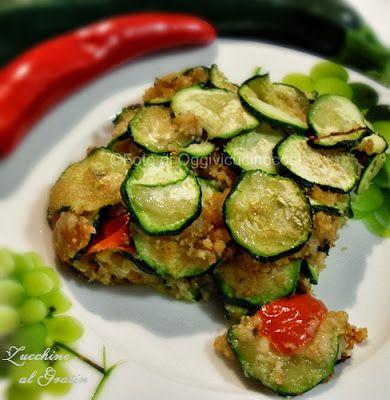 ©Oggi vi cucino così-Zucchine al Gratin©