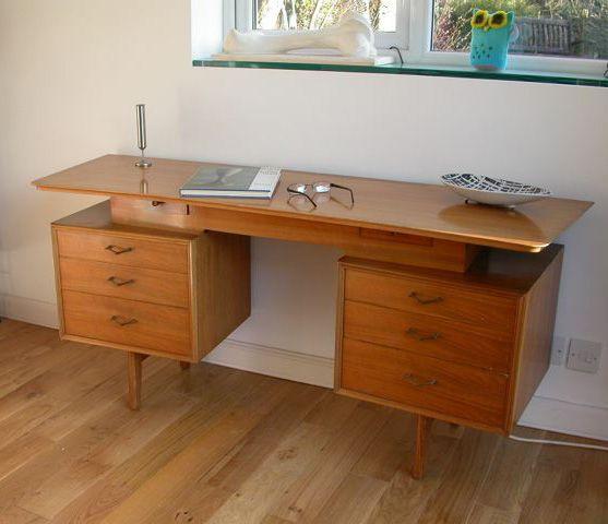 Alfred Cox Desk/Dressing Table #50s #1950s #dressingtable #desk #midcentury #home #interiors