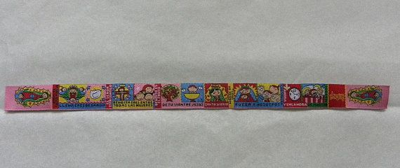 Unique Wristband Ribbon Bracelet for Children, Boys, Girls Teens, Women and Men .   Recomended ages : 4 up to.  An ideal Favor for First Communion, Confirmation, Baptism, Get Well, Birthday, Prayer Group or any special ocassion.  Ribbon made of cotton and polyester. Very resistable.  $ 4.95
