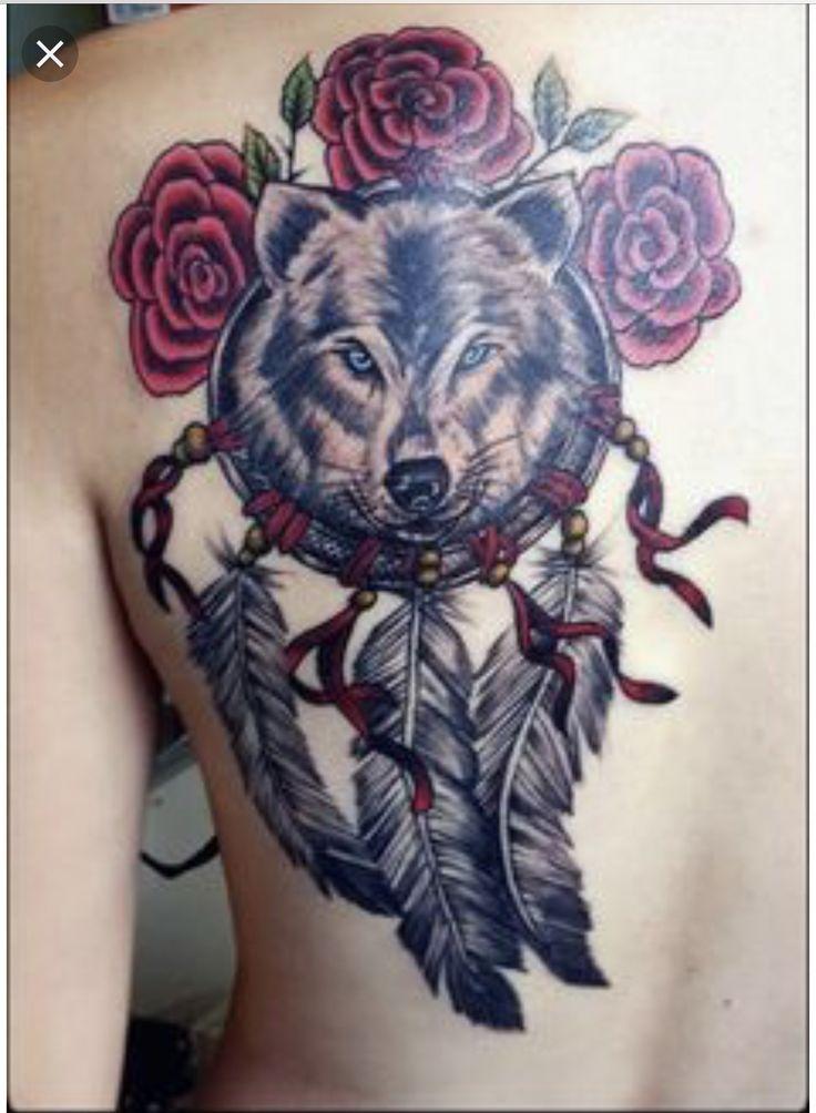 Tattoo Wolf Tattoos Wolf Dreamcatcher Tattoo Tattoos
