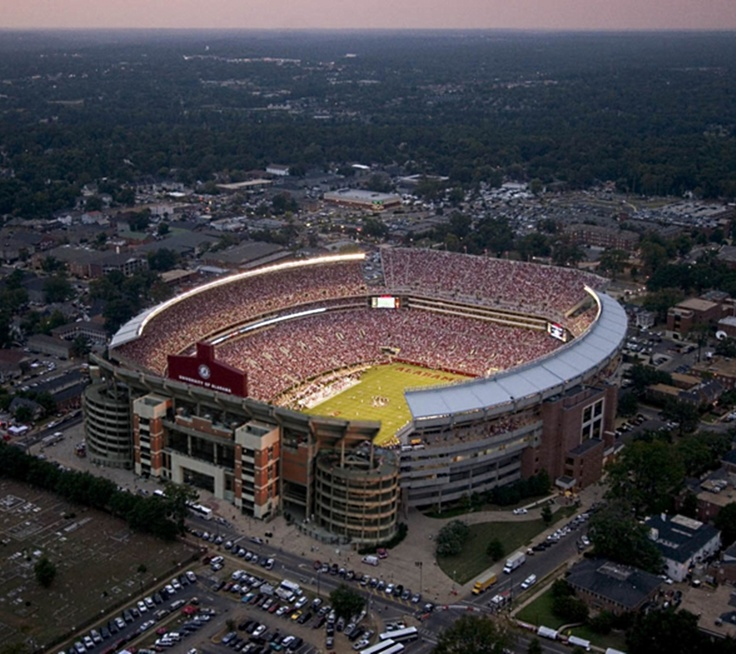 Only one of the greatest places on Earth... Bryant-Denny Stadium, Tuscaloosa, Alabama