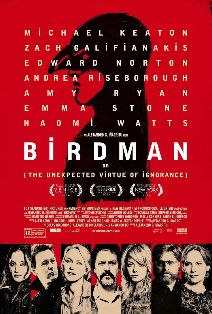 DVD | Birdman Čtyři Oscary za film, režii, kameru a scénář, ale u hlavní herecké role zůstalo jen u nominace.