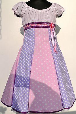 Roos Farbenmix Dress Elodie Carmen Dress Flared Dress School Party Size 116-122