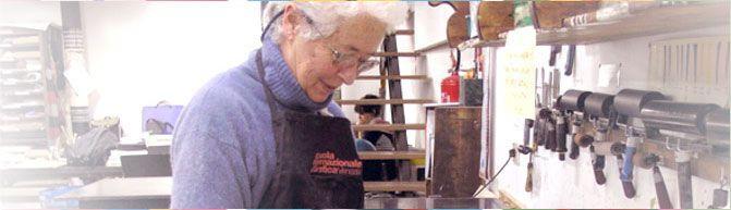 Mathilda at work