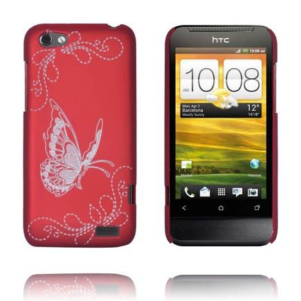 Joy (Rød) HTC One V Deksel