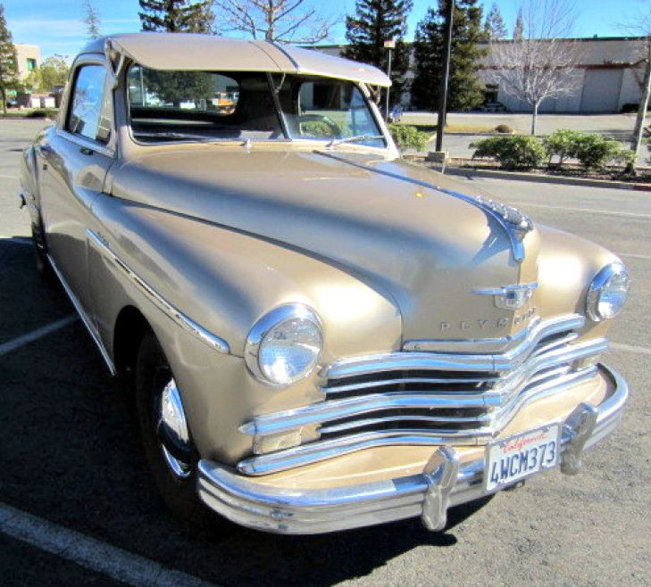 1949 Plymouth Business Coupe on GovLiquidation.
