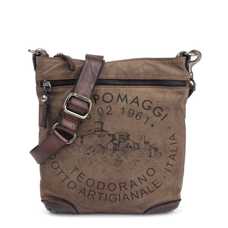 Tasche TRACCOLLA von CAMPOMAGGI neu Farbe:Braun Modell C3735
