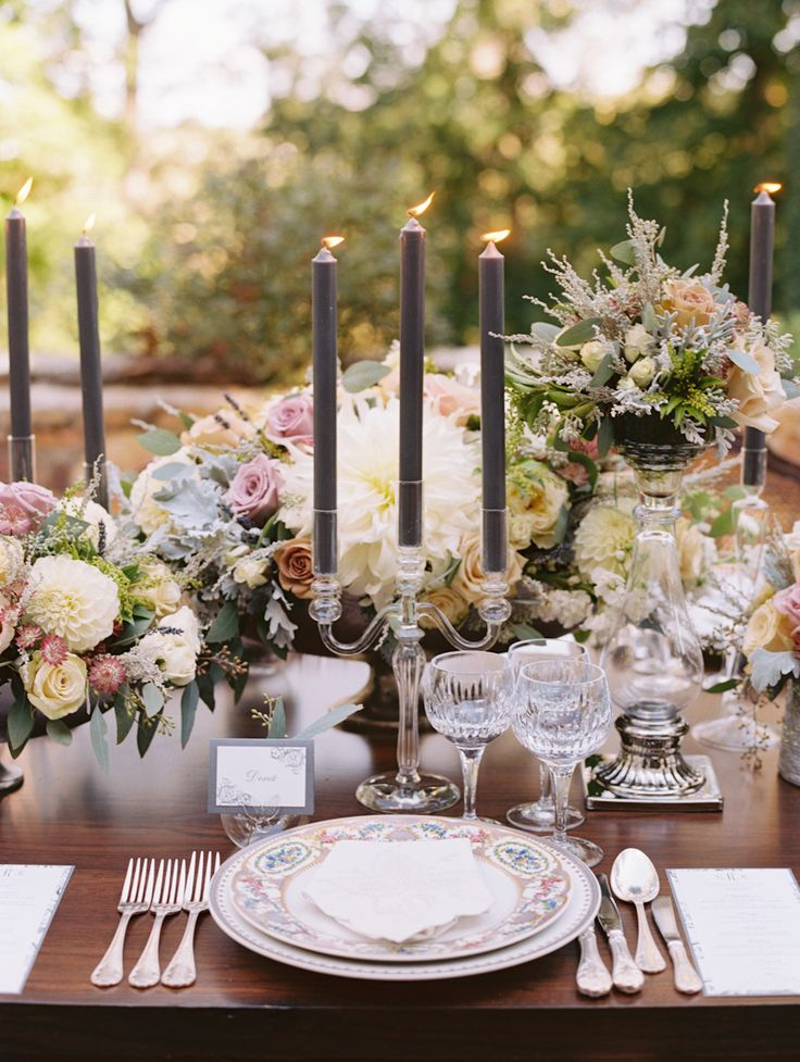 #tablescapes  Photography: Abby Jiu Photography - abbyjiu.com  Read More: http://www.stylemepretty.com/2014/01/17/intimate-goodstone-inn-wedding/