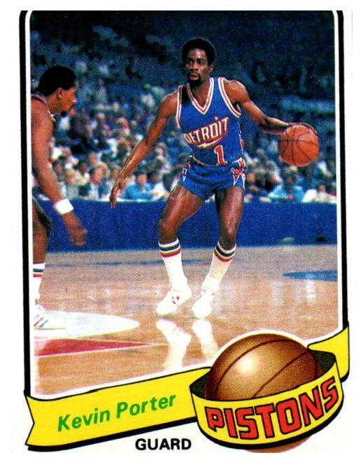 1979-80 Topps Kevin Porter Detroit Pistons
