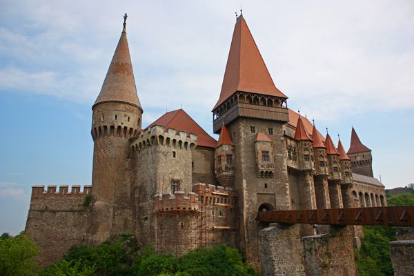Hunyard Castle, Hunedoara Romania, believed to be a prison for seven years for Vlad III of the Wallachian Empire a.k.a. Dracula