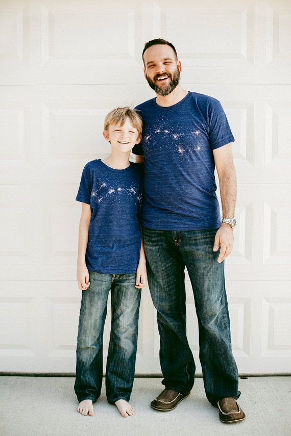 $48 for set.  Hey, I found this really awesome Etsy listing at https://www.etsy.com/listing/220804229/big-dipper-little-dipper-tshirt-set