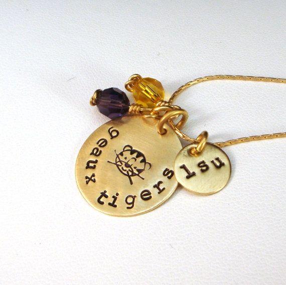 LSU Tigers Necklace