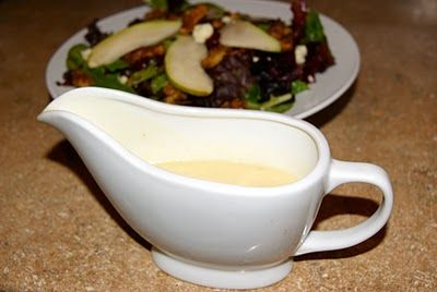 Champagne Vinaigrette, copycat of Nordstrom Cafe's recipe - So good and easy!