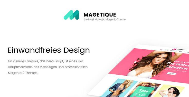 Magetique umfasst unser ganzes Design- und technisches Know-how und bietet die modernste #Magento 2 Nutzererfahrung. Es umfasst eine Vielzahl von #Marketing-, #Design- und Verwaltungswerkzeugen