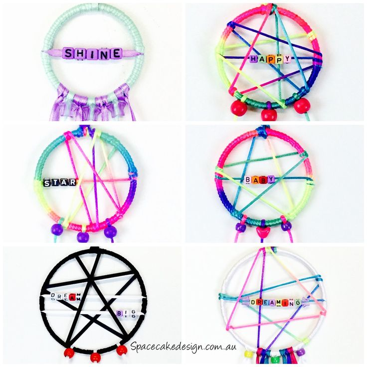 Lots of cute little dreamcatchers to brighten your day! Now available in various sizes.