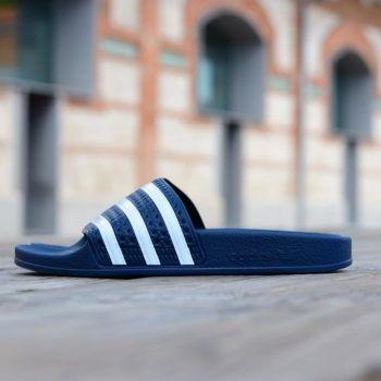 Adidas Azules Con Rayas Blancas