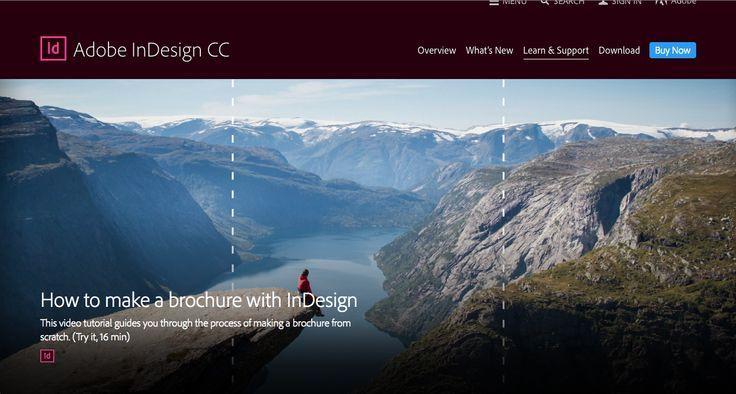 Create a brochure in InDesign
