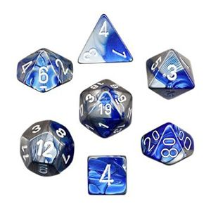 Polyhedral 7-Die Gemini Chessex Dice Set