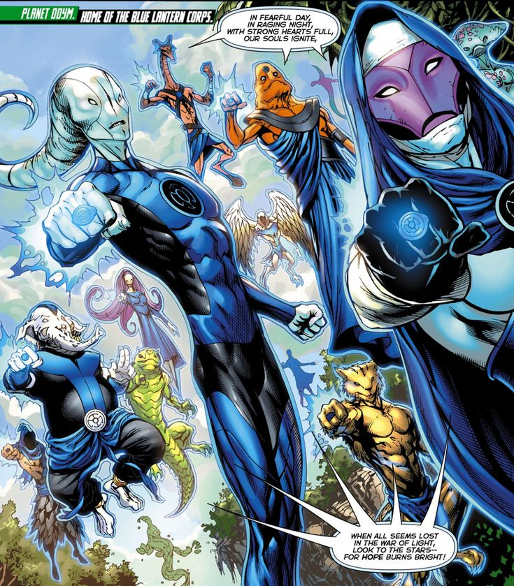 The Blue Lantern Corps is an organization appearing in comics published by DC Comics, derived from the emotional spectrum. Description from imgarcade.com. I searched for this on bing.com/images