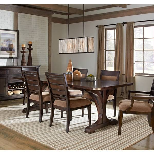 Crystal Ridge Trestle Dining Table