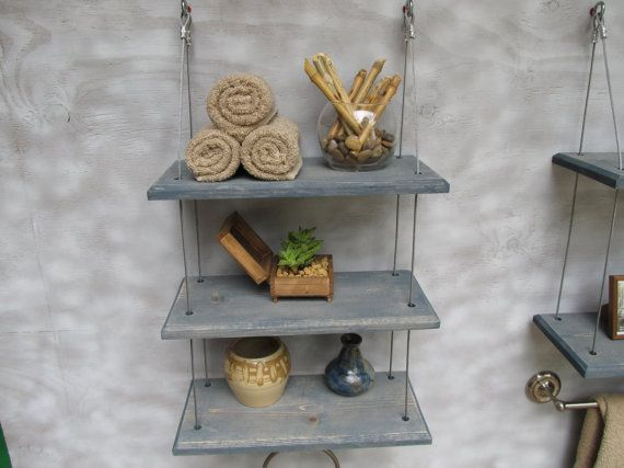 17 Best Ideas About Bathroom Mirror With Shelf On Pinterest: 17 Best Ideas About Floating Shelves Bathroom On Pinterest