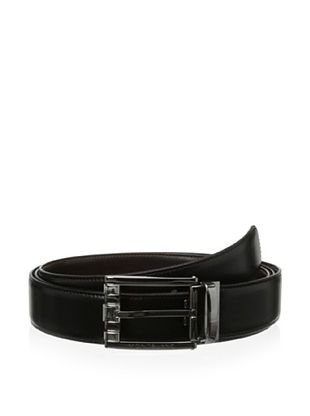 29% OFF Montblanc Men's Extra Long Classic Reversible Belt (Black/brown)